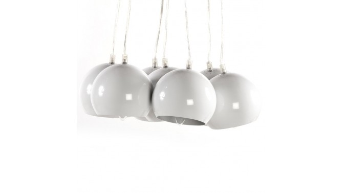 Lustre de salle manger bilbao 7 suspensions en m tal for Lustre suspension design
