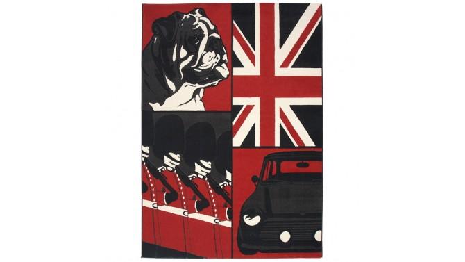 Tapis moderne rectangulaire au look Anglais - Gordon