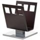 Porte-livres moderne en bois et métal - Boss