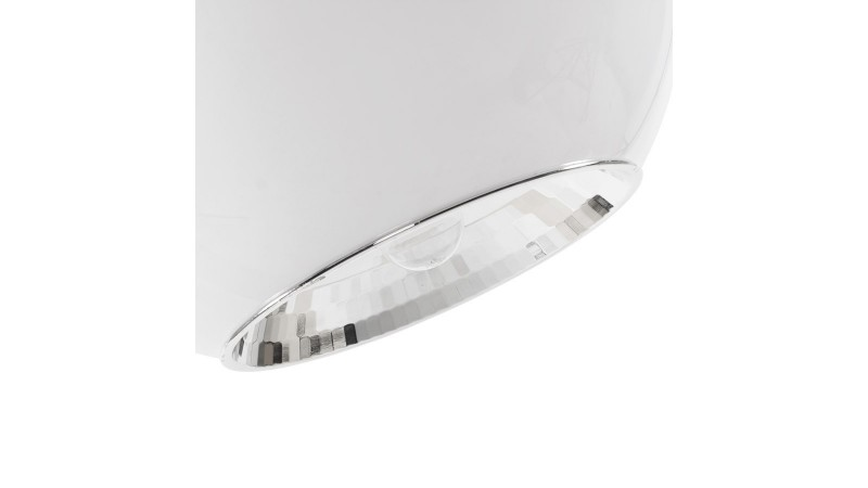 lustre moderne blanc gallaxy en forme de boule gdegdesign. Black Bedroom Furniture Sets. Home Design Ideas