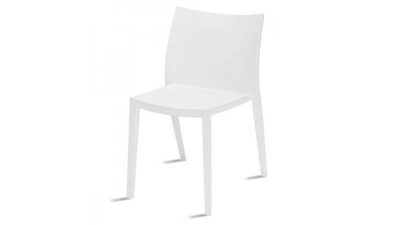 Chaise blanche cuisine chaise blanche design salle a manger chaise de cuisine reglable en - Chaise moderne blanche ...