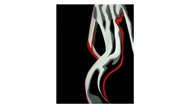 Peinture design femme - Nina