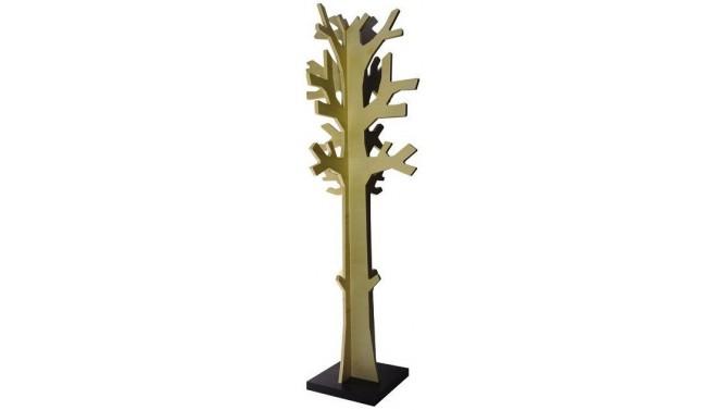 Porte-manteaux design en bois en forme d'arbre - Tumn
