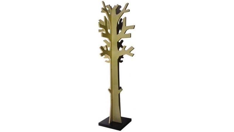 Porte manteaux en bois tumn en forme d 39 arbre avec socle - Porte serviette sur pied pas cher ...