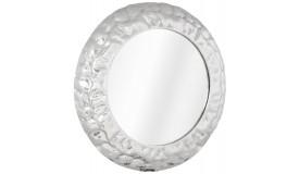Miroir design mural austin rond avec facettes gdegdesign - Aluminium poli miroir ...