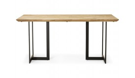 Table manger design petit prix extensible ou for Table a diner industrielle