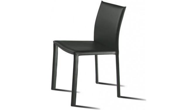 chaise de salle a manger en simili noir blendjpg - Table De Salle A Manger Industriel2928