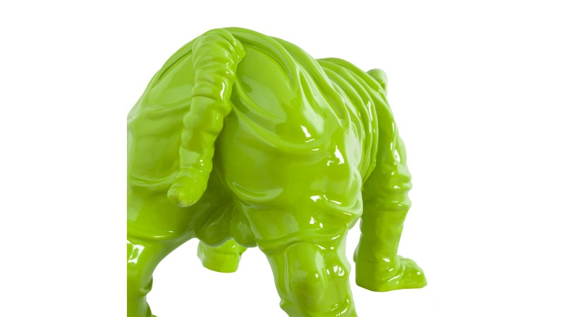 Statue design d corative chien en r sine lary gdegdesign - Statue resine design ...