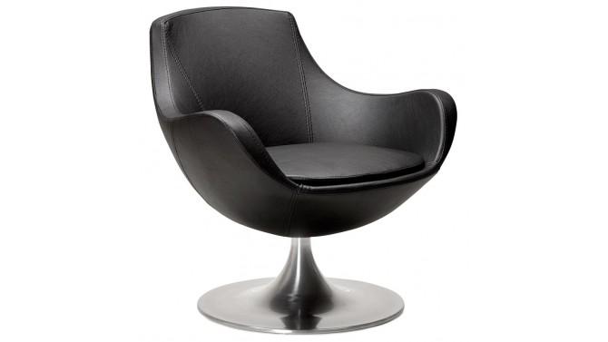 Fauteuil design simili cuir - Lothar