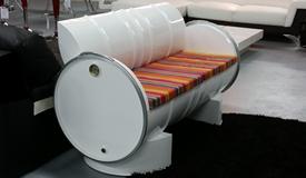 Canapé 3 places intérieur/extérieur - Adem