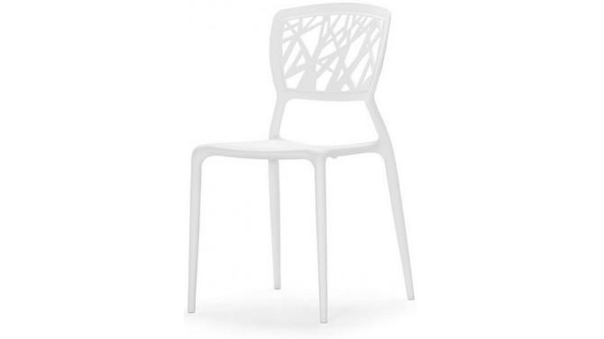 chaise tendance blanche en polypropylene anatolejpg - Chaise Style Scandinave Pas Cher1838