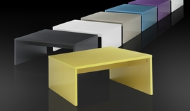 Table basse design de couleur - Mirko