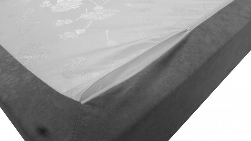 Matelas ressorts avec mousse et housse en tissu antara - Matelas mousse ou ressorts ...