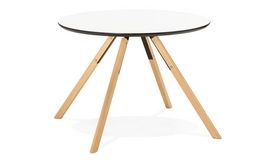 Table de cuisine ronde scandinave - Natz
