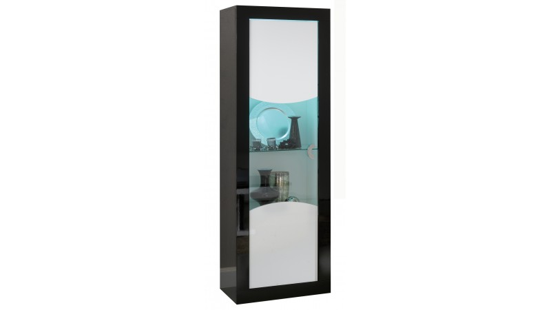 vitrine lumineuse de rangement design avec led nevis. Black Bedroom Furniture Sets. Home Design Ideas
