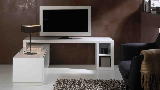 meuble tv design modulable et amovible 160 cm alpo - gdegdesign - Meuble Modulable Design
