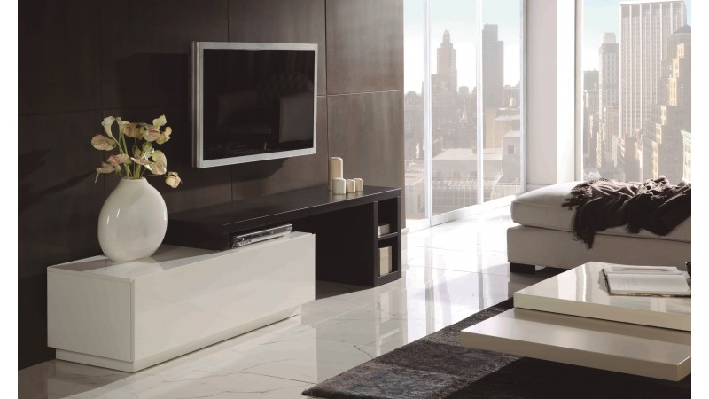 meuble tv design modulable et amovible 160 cm alpo. Black Bedroom Furniture Sets. Home Design Ideas