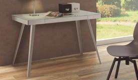 Console ou bureau design gris - Craig