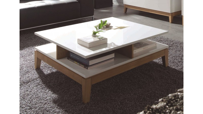 table basse blanche scandinave conceptions de maison. Black Bedroom Furniture Sets. Home Design Ideas