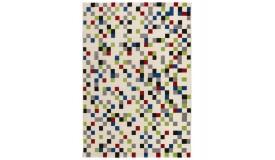 Tapis design rectangulaire multicolore - Palerme