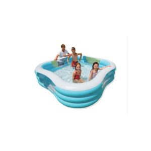 Les points positifs d une piscine gonflable intex for Piscine carree design