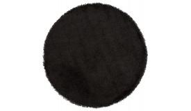 Tapis design rond à poils longs - Bray