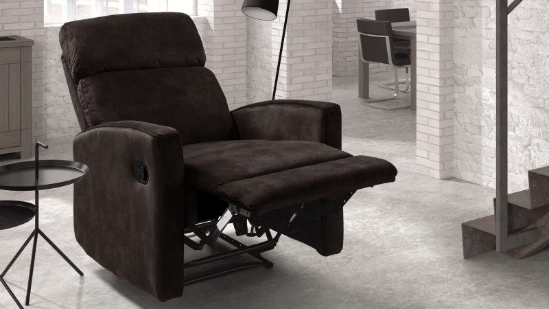 fauteuil relax manuel de salon moderne inclinable matys gdegdesign. Black Bedroom Furniture Sets. Home Design Ideas