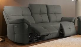 Canapé relax capitonné design 3 places - Tokyo
