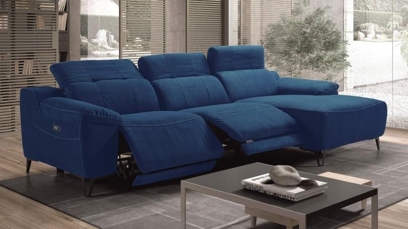canape d angle relax electrique tissu. Black Bedroom Furniture Sets. Home Design Ideas