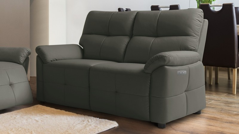 Salon canap relax lectrique design en cuir 3 2 tokyo gdegdesign - Salon relaxation electrique ...