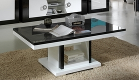 Table basse design bicolore - Nevis
