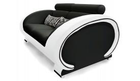 Canapé design de salon 2 places - Elton