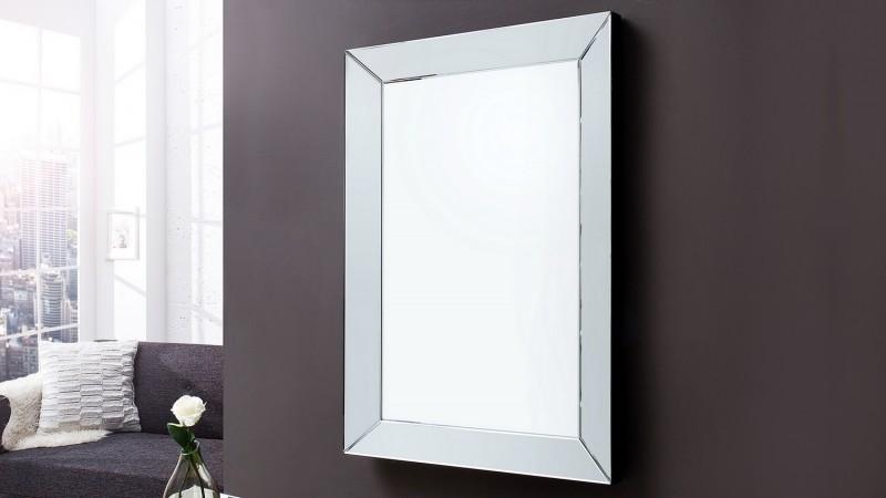 Miroir moderne avec facettes lat rales design preston gdegdesign for Miroir moderne
