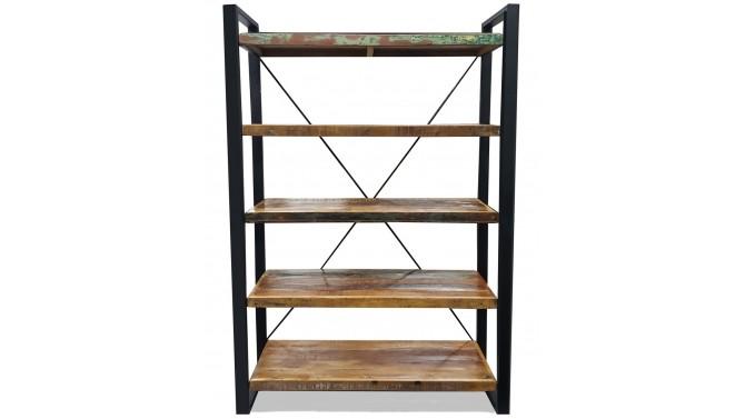 tag re design industriel en bois recycl et m tal amador. Black Bedroom Furniture Sets. Home Design Ideas