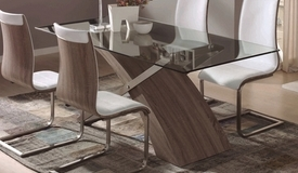 Table à dîner rectangulaire en verre - Khosrov