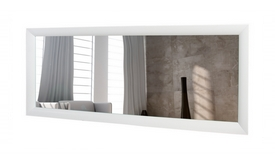 Grand miroir rectangulaire blanc - Clyde