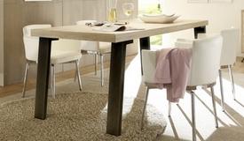 Table à manger design bois clair - Vram