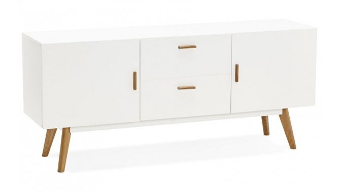 Buffet design scandinave blanc - Lars
