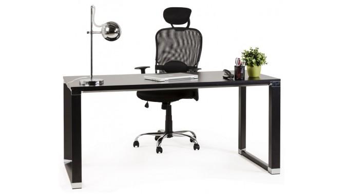 Bureau droit design en bois - Kristopher