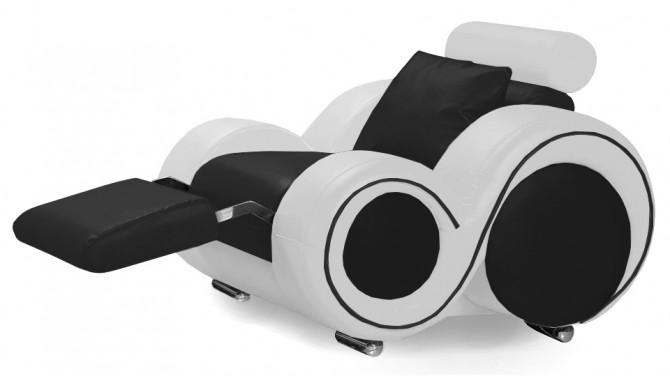 Fauteuil design cuir relax - Carlson