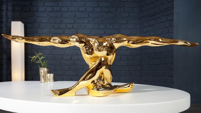 Statue déco design athlète or - Celso