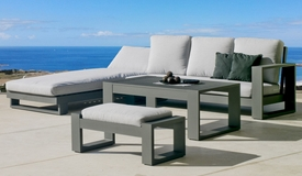 Salon de jardin complet avec table - California