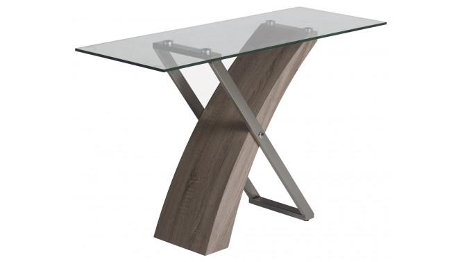 Console design verre rectangulaire - Khosrov