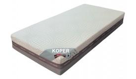 Matelas mémoire et latex 200x200 - Koper