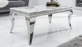 Table basse baroque marbre - Zita