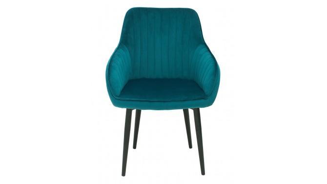 Chaise design moderne en velours - Olga