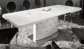 Table à manger design extensible à strass - Klaudia
