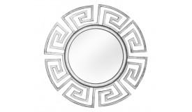 Miroir rond moderne à motifs - Rima