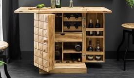 Bar design bois massif - Ramata