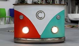 Bar combi multicolore design - Milo